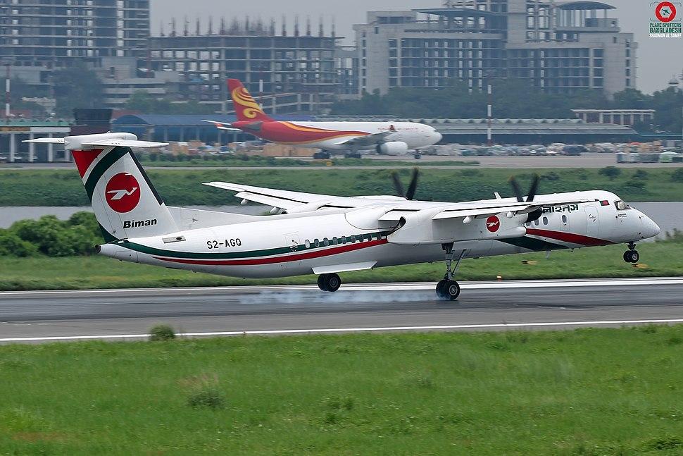 S2-AGQ Biman Bangladesh Airlines De Havilland Canada DHC-8-402Q. (43039518221)