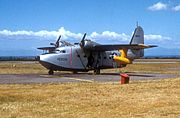 SA-16A Albatross on ground during Korean War