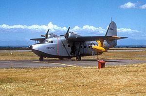 Grumman HU-16 Albatross - An USAF SA-16A during the Korean War.