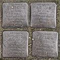 SG Stolperstein - Familie Leven komplett, Elisenstraße 9.jpg