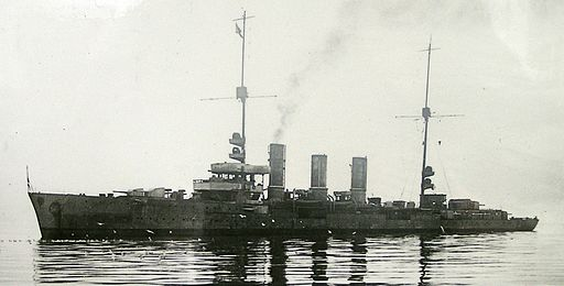SMS Dresden (Light Cruiser) scuttled 17 June 1919
