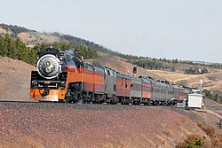 SP 4449 West Bison Oct 17 2009xRP - Flickr - drewj1946.jpg