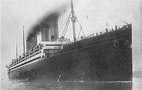 SS Kronprinzessin Cecilie entering Bar Harbor, Maine, in August 1914.jpg