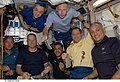 STS-128 crew meal in Node 1.jpg