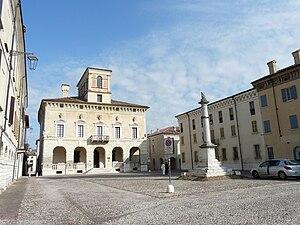 Piazza Ducale, Sabbioneta, Lombardia, Italia