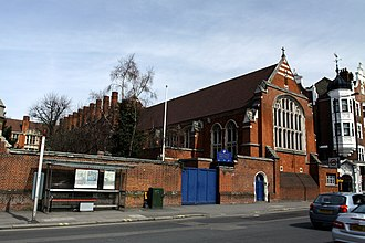 Sacred Heart High School, Hammersmith - Image: Sacred Heart High School in Hammersmith, London in spring 2013 (3)