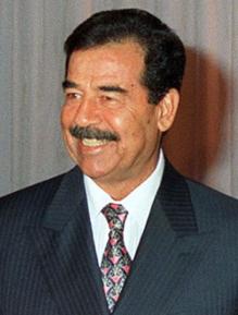 Saddam Hussein Iraqi politician and President