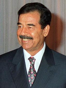 Saddam Hussein in 1998
