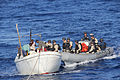 Sailors from USS Bainbridge help stranded mariners. (11000037515).jpg