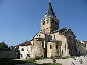 Saint-Lupicin, église Notre-Dame de la Nativité