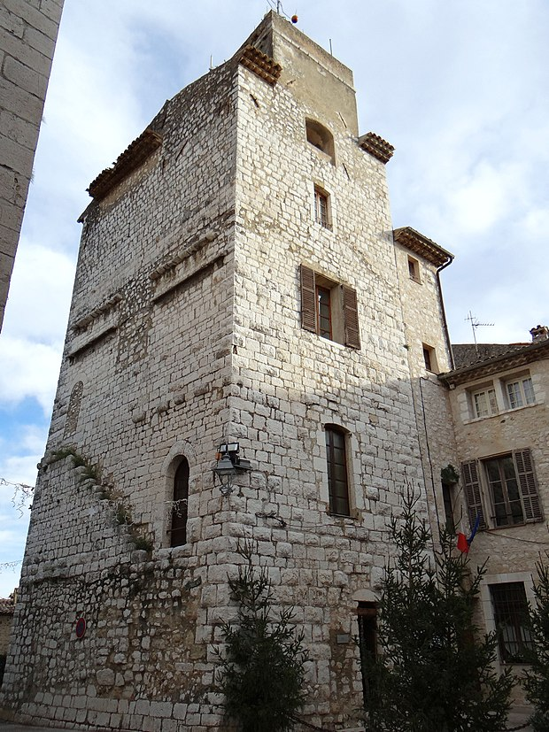 Monument historique à Saint-Paul-de-Vence
