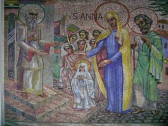 Boris Anrep - Image: Saint Anne mosaic Mullingar