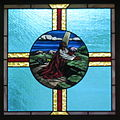 Saint Mary Catholic Church (Gatlinburg, Tennessee) - stained glass, the Agony in the Garden.jpg