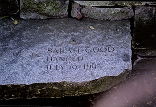 Sarah Good Accused of witchcraft in the Salem witch trials