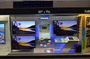 Smart TV - Smart TVs on display