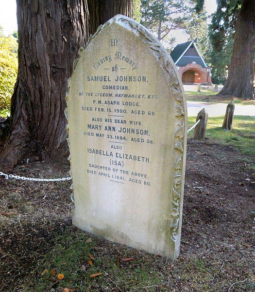 Samuel Johnson Grave
