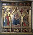 San martino a mensola, taddeo gaddi, polittico nella cappella di s.antonio 01.JPG