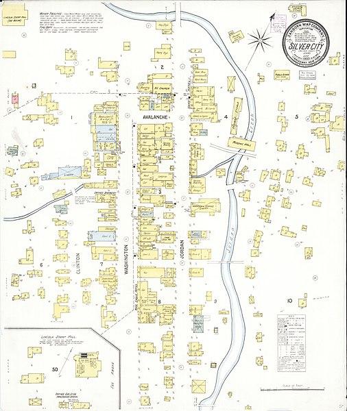 silver city idaho map File Sanborn Fire Insurance Map From Silver City Owyhee County silver city idaho map