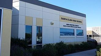 Santa Clara High School (Santa Clara, California) - Image: Santa Clara High School