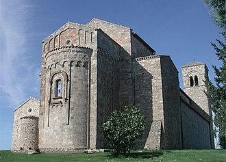 Tursi - The Church of Anglona.