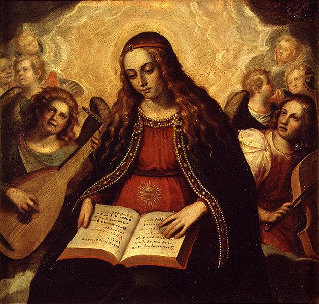 Archivo:Sarinyena, Verge de l'Esperança amb àngels músics, Ca 1610.jpg