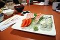 Sashimi and sushi combo (3273164589).jpg