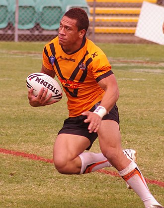 Sauaso Sue - Sue playing for the Tigers in 2013.