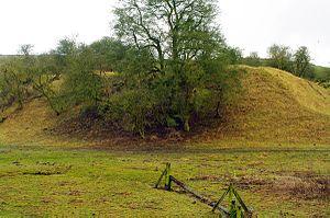 Sauvey Castle - Surviving earthworks