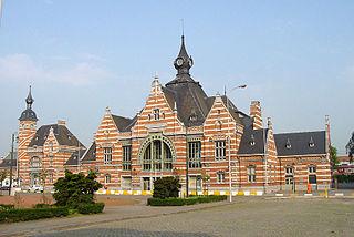 Schaarbeek railway station railway station in Belgium