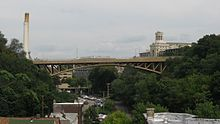 Schenley Bridge from South Oakland 3.jpg