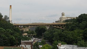 Schenley Bridge - Image: Schenley Bridge from South Oakland 3