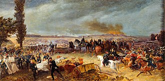Austro-Prussian War - Image: Schlacht bei koeniggraetz von georg bleibtreu