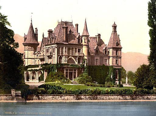 Schloss Schadau 1900