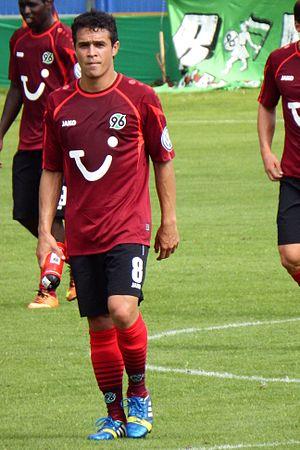 Manuel Schmiedebach - Schmiedebach with Hannover 96 in 2013