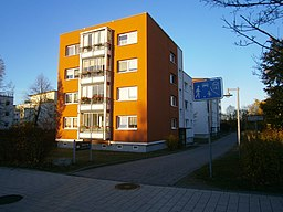 Vidiner Straße in Schwerin