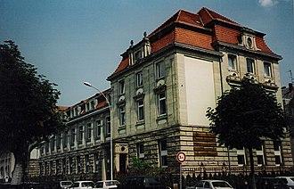 Institut d'études politiques de Strasbourg - l'Institut d'Etudes Politiques de Strasbourg
