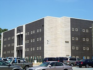 Scott County Jail - Scott County Jail's 2007 expansion