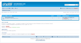 Capture d'écran d'un forum phpBB 3.2.x.