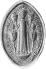 Illustration of the seal of Alan's daughter, Dervorguilla.