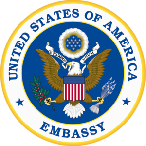 Embassy of the United States, Baghdad - Image: Seal of an Embassy of the United States of America