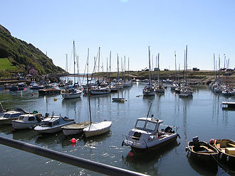 Seaton, Devon - The harbour