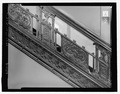 Second Floor Interior Staircase, detailed cast iron panels - Corbin Building, 11 John Street, New York, New York County, NY HABS NY-6372-21.tif