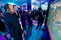 Secretary Kerry, his Wife Teresa Heinze Kerry, and Norwegian Foreign Minister Borge Brende Look at an Interactive Display of Financial and Territorial Preservation Commitments as They Tour Displays (29084010293).jpg