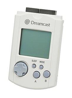 VMU Dreamcast storage device