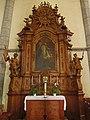Seitenaltar in der Pfarrkirche Hl. Wolfgang in St. Wolfgang.jpg