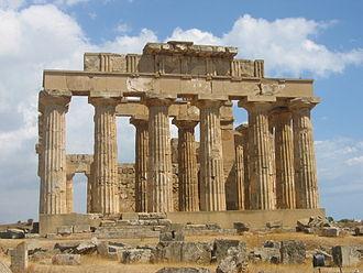Temple E (Selinus) - Image: Selinonte Temple E2