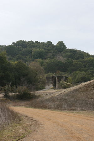 New Almaden - Senador Mine ruins