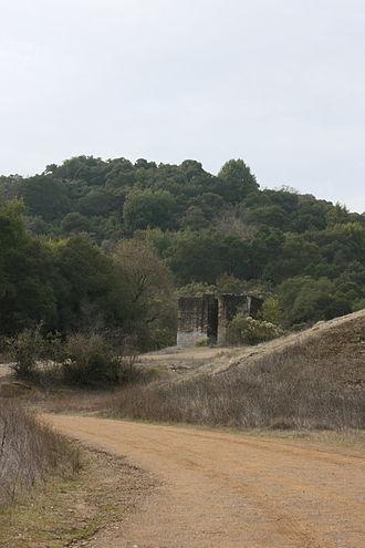 Almaden Quicksilver County Park - Senador Mine ruins