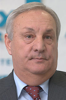 Sergei Bagapsh Abkhazian politician