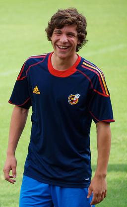 Sergi Roberto at the SBS Cup 2010